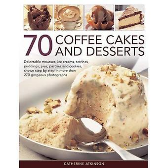 70 koffie gebak en Desserts
