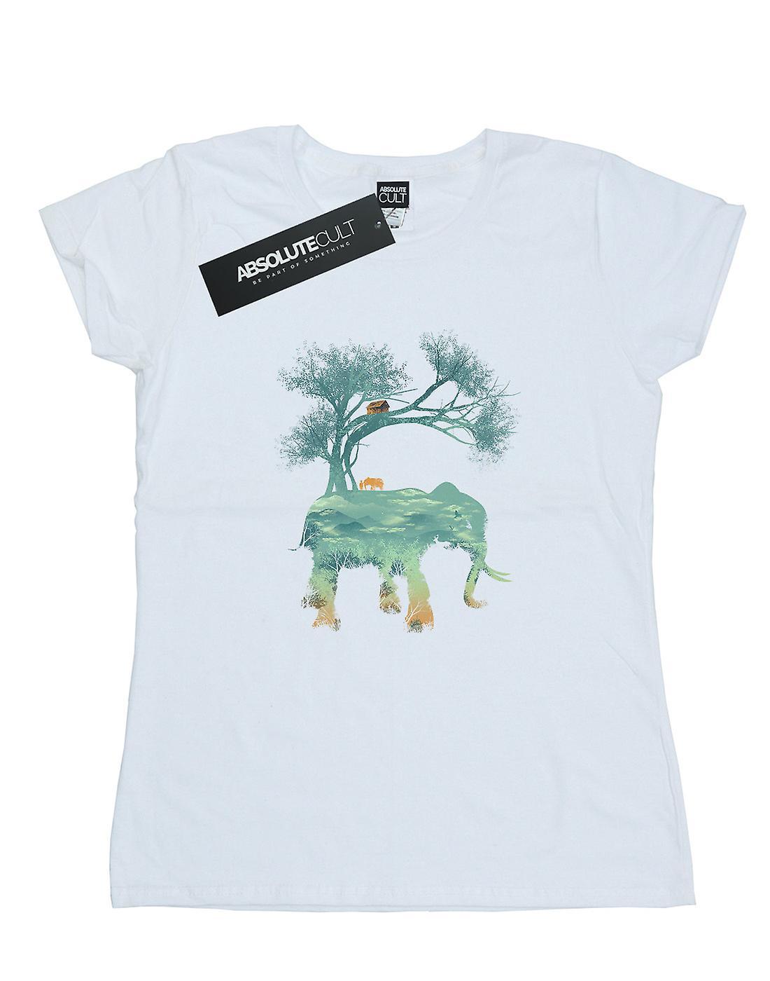 Dan Dingeroz Women's Elephant Nature T-Shirt