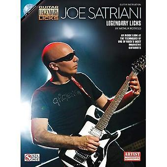 Joe Satriani: Legendary Licks (Legendary Guitar Licks)
