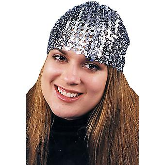 Cloche Hat Sequin Black For All