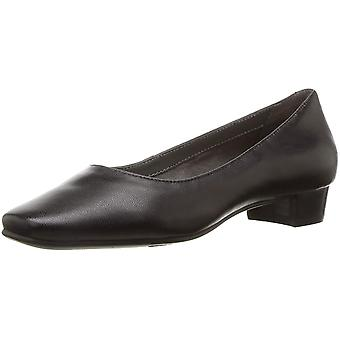 Aerosoles Womens Subway Leather Round Toe Classic Pumps