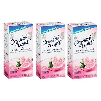 Luce di cristallo sul go Pink Lemonade Sugar Free soft drink mix 3 Pack