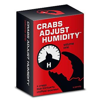 Crabs Adjust Humidity Volume One Card Game