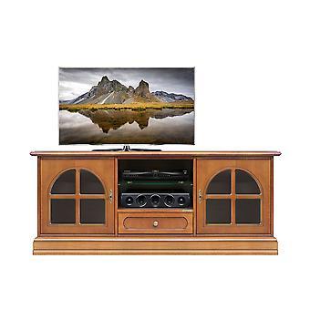 Klassische TV-Tür mit Vitrinen