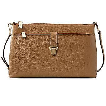 Michael Kors Mercer Large Snap Pocket Crossbody Bag - Acorn