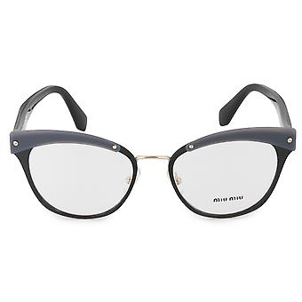 Miu Miu MU 54QV 1AB1O1 50 Cat Eye glasögon ramar