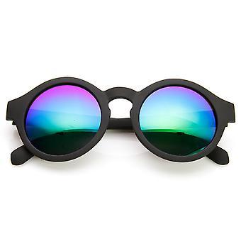 复古时尚圈闪光镜镜头钥匙孔圆太阳镜