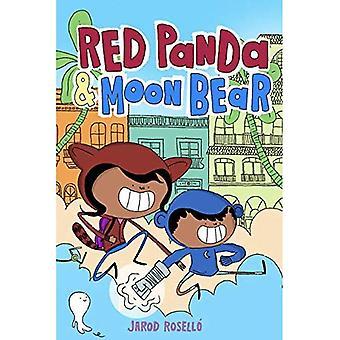 Panda rouge et ours de lune
