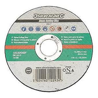 Silverline disco di taglio pietra, accreditato da OSA