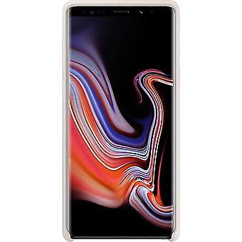 Samsung EF-PN960TWE Silikon Cover für N960F Samsung Galaxy Note 9 - weiss