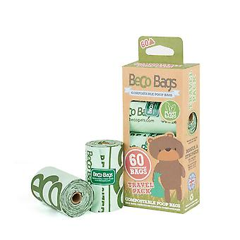 Beco animaux chien sacs compostables (60)