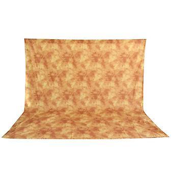 BRESSER BR-6104 tissu de fond lavable avec motif 3x6m