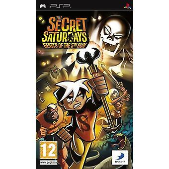 Den hemmelige lørdage bæster af 5th Sun (Sony PSP)-nye