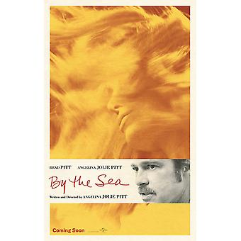 By The Sea Original Movie Poster Double Sided Advance