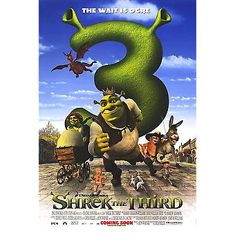 Shrek The Third (Double Sided International) (2007) Original Cinema Poster