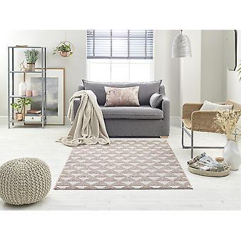 Schleife 7444A ( rosa) ELFENBEIN dunkel GRAU Rechteck Teppiche Plain/Fast einfache Teppiche
