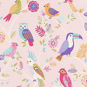 Birds Wallpaper Rasch
