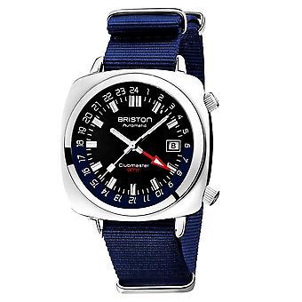Briston 19842.PS.G.9.NNB Clubmaster GMT Traveller Wristwatch