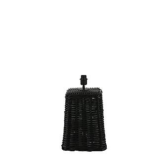 Light & Living Lamp Base 31X31X49,5 Cm Karawang Rattan Black