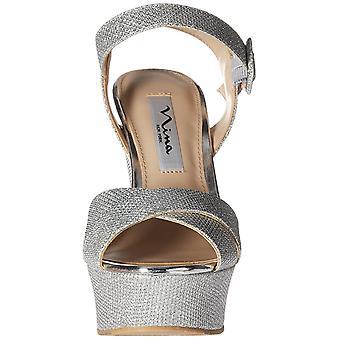 Nina Womens Jinjer Open Toe Special Occasion Platform Sandals