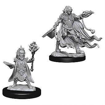 Pathfinder Deep Cuts Unpainted Miniatures Evil Wizards (Pack de 6)