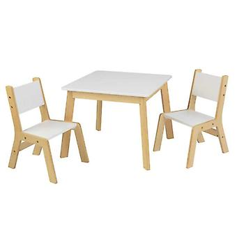 KidKraft Set Table and 2 Modern Chairs
