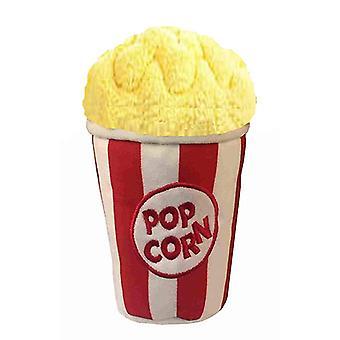Petlou Plush 8 & quot; Hračka na psa popcornu