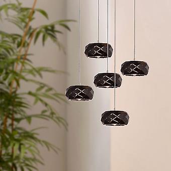 KORST 5 mini hanger verlichting zwart