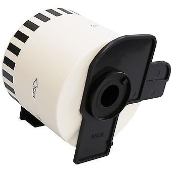 Prestige kaseta kompatybilna dk22205 ciągłe białe standardowe etykiety adresowe dla brata ql-500, ql-550, ql-560, ql-570, ql-580n, ql-650td, ql-700