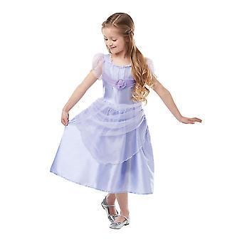 Girls Clara Lavender Classic Fancy Dress Costume