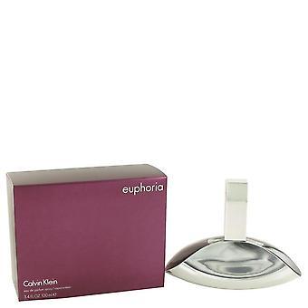 Euphoria eau de parfum spray mennessä calvin klein 420192 100 ml