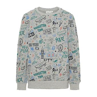 Namn-IT Grey Boys tröja Kriss