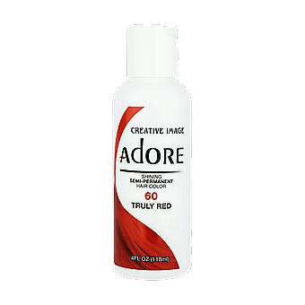 Creative Image Adore Shining Semi-Permanent Hair Color 60 Truly Red 118ml