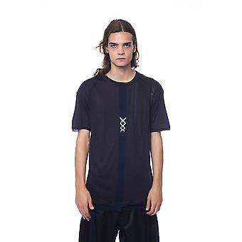 Men's Blue Nicolo Tonetto Short Sleeve T-shirt