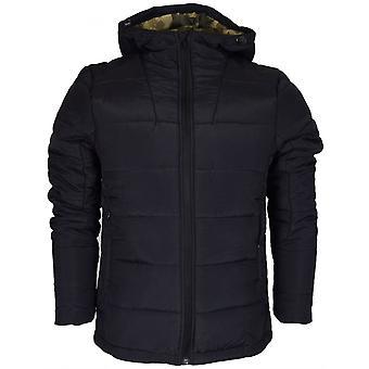 Born Rich Rafael Polyester Zip Black Jacket