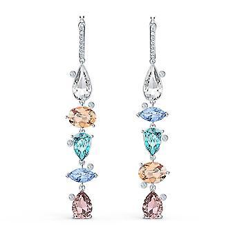 Swarovski örhängen 5520490 örhängen m tal silver Crystal mix rosa vit och blå kvinnor