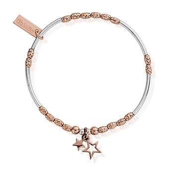 Chlobo MBMNSR739 naisten ' s kaksinkertainen tähti ranne koru