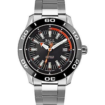 Ball DM3090A-SJ-BK Fireman NECC Wristwatch Black