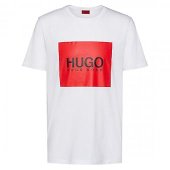 HUGO By Hugo Boss Dolive194 Square Logo T-Shirt White 50414225