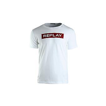 Replay M37202660001 universell sommer menn t-skjorte