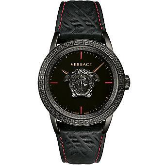 Versace Women's Watch Wristwatch PALAZZO Empire black VERD00218 Leather