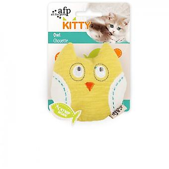AFP Kitty Owl (Cats , Toys , Plush & Feather Toys)