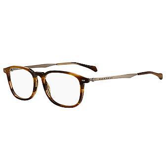 Hugo Boss 1095 EX4 Brązowe okulary róg