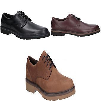 Rockport hombres Charlee llano del dedo del pie zapatos