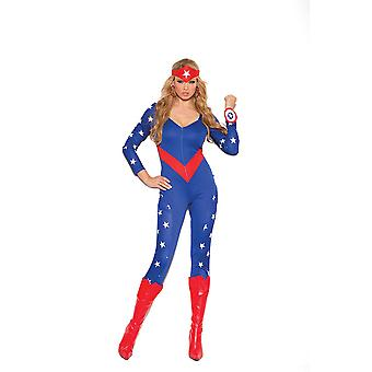 Elegant Moments American Hero Wonder Girl Super Hero Halloween Costume