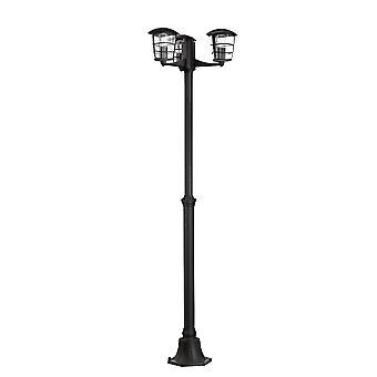 Eglo Aloria - 3 lys utendørs lampe stolpe svart IP44 - EG93409
