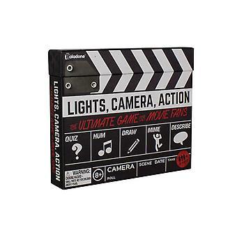 Luces cámara acción película trivia adivinando dibujo Miming Quiz Juego Partido