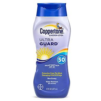 Coppertone ultra guard zonnebrandcrème, spf 50, 8 oz