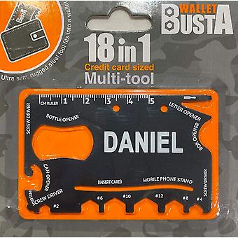 Multitool Multitool DANIEL luottokortin pankkikortti