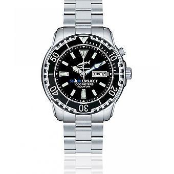 CHRIS BENZ - Diver Watch - DEEP 1000M SHARKPROJECT EDITION - CB-1000-SP-MB